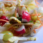 Frisse witlof salade