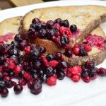 Wentelteefjes met rood fruit