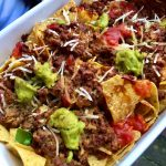 Vegan loaded nacho's
