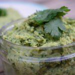 Koriander humus