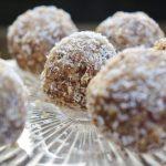 Vegan kokos bliss balls