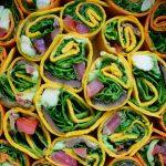 Vegan borrelhap: groentewrapjes